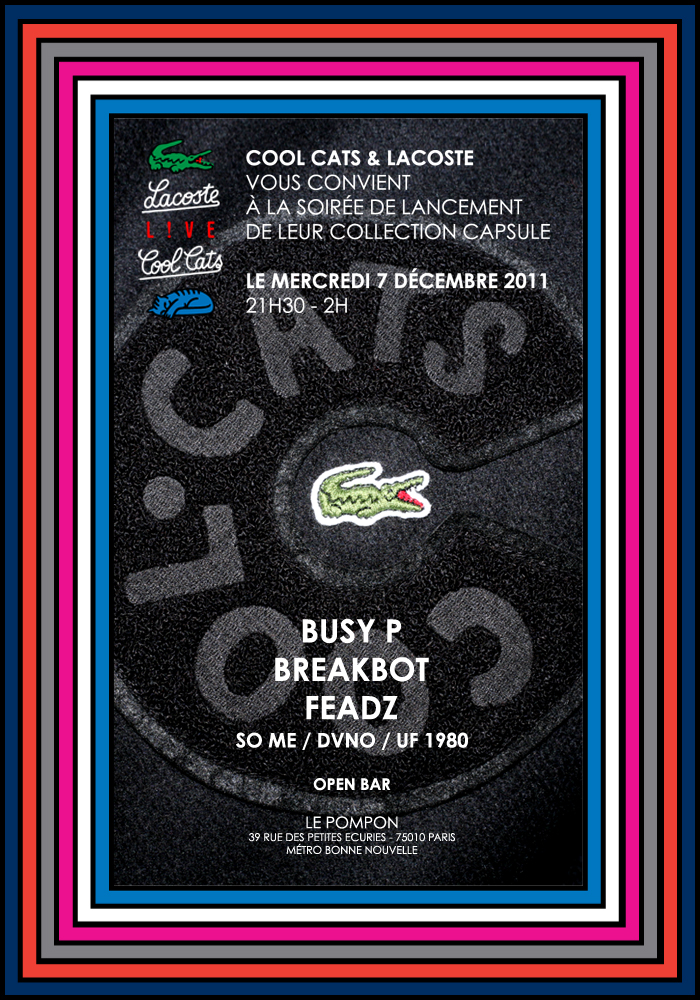 flyer coolcast lacoste