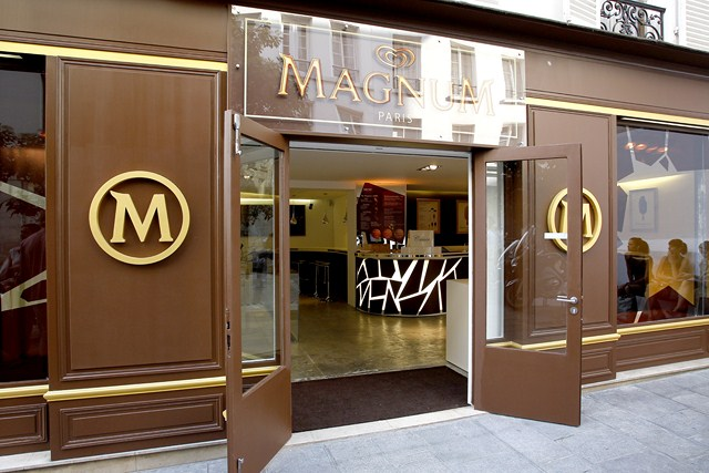 INAUGURATION DE LA BOUTIQUE EPHEMERE 'MAGNUM'