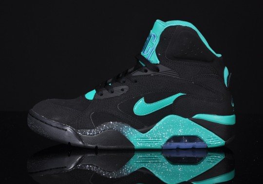 Nike-Air-Force-180-Mid-Schwarz-Atomic-Teal-540x379