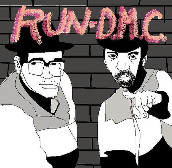 run-dmc-mspaint