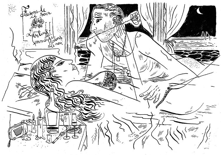 La Saint Valentin vue par Simon Bournel