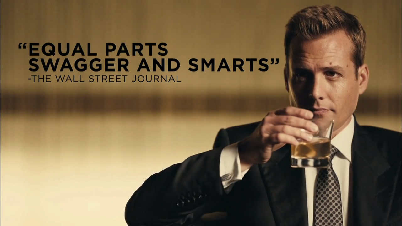 Harvey Specter-Gabriel Macht