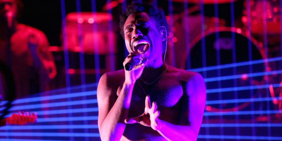 À voir : en live, Childish Gambino mystifie le Tonight Show