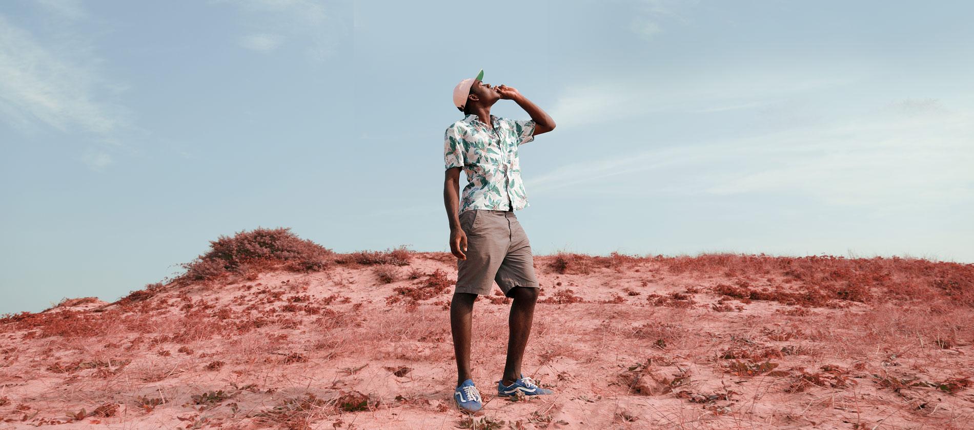 Avec 'Space Cowboy', Woodie Smalls envoie le rap belge en orbite