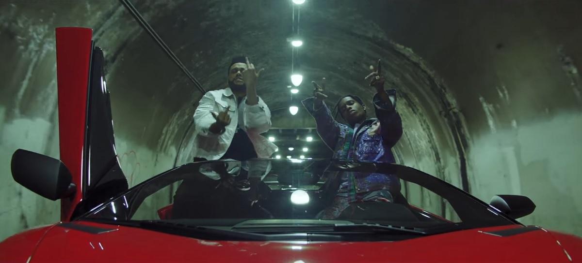 À voir : pluie de stars dans le clip glacial de The Weeknd pour 'Reminder'