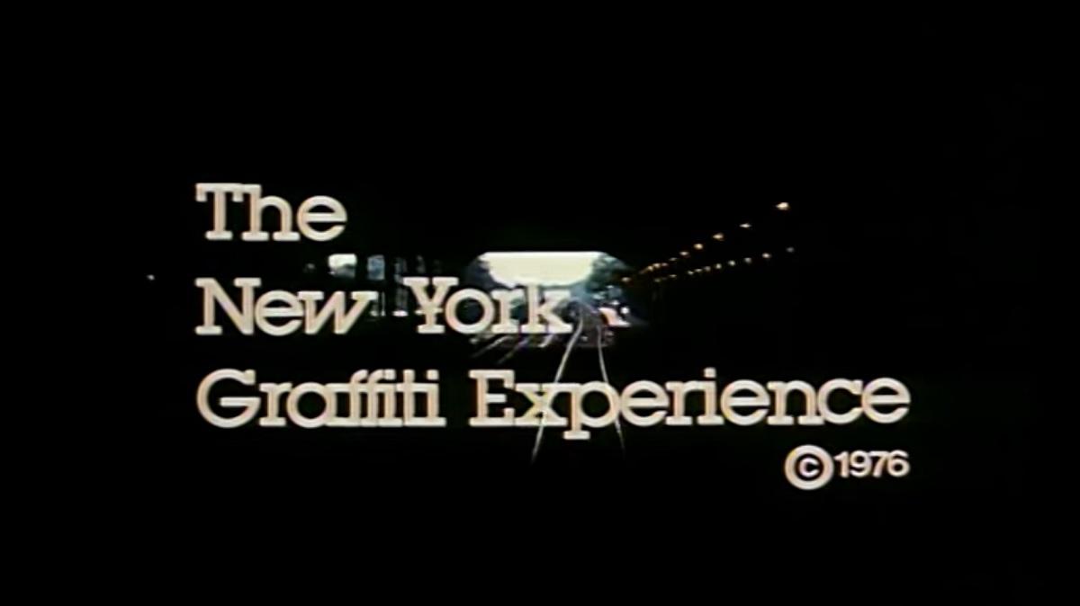 À voir : un documentaire d'époque dévoile le graffiti new-yorkais des 70's