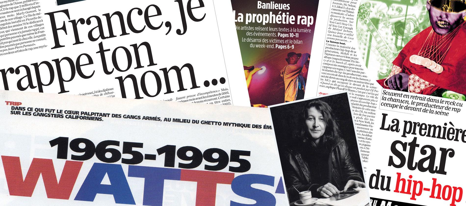 Stéphanie Binet, 25 ans de plume rap (1ère partie)