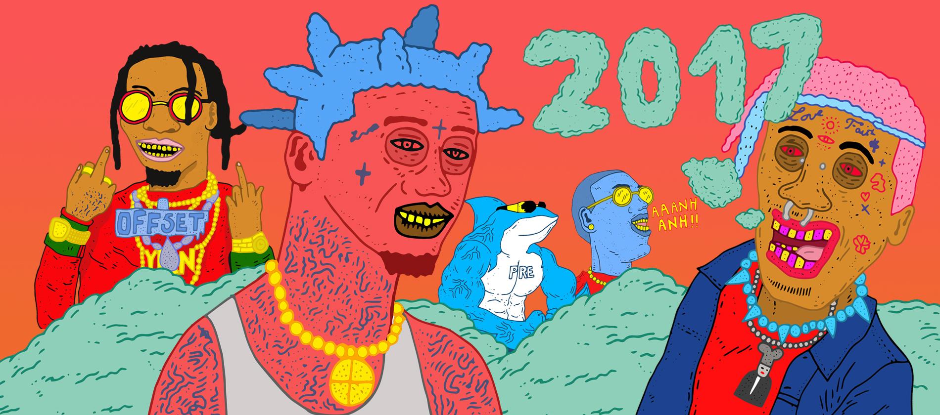 2017, une année rap en 17 actes